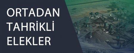 ORTADAN TAHRİKLİ ELEKLER
